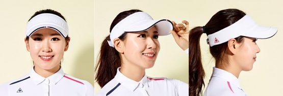 Le coq Sportif Golf Women's Volume Logo Basic Visor (G9122LSV21)