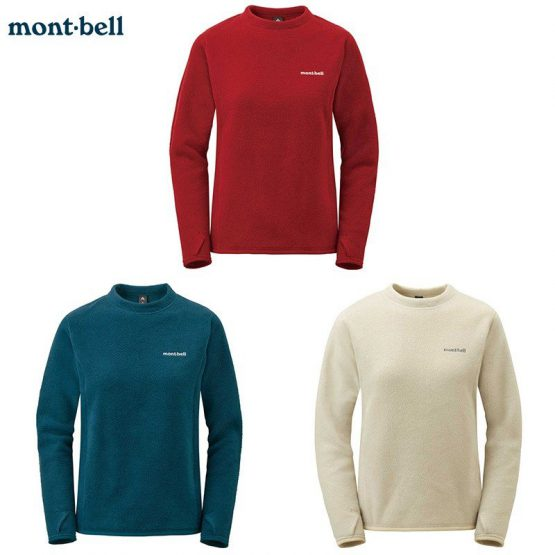 Montbell Japan 1106596 Lite Sweatshirt Women's