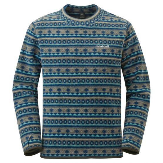 Montbell 1106630 Print Lite Sweatshirt Men's size S