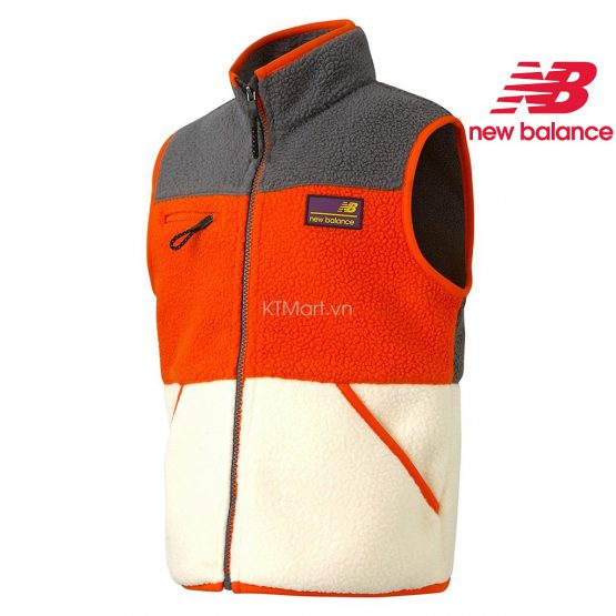 New Balance Outdoor Color Dumble Fleece Vest NK9H94307U New Balance size 145, 155
