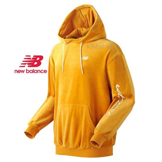 New Balance UNI Veloa Long Hooded Unisex Sweatshirt NBN0934023 New Balance size 90, 95, 100