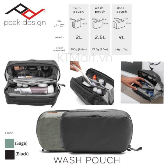 Peak Design Travel Wash Pouch Peak Design