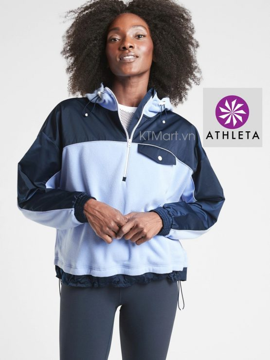 Athleta Zion Microfleece 1/2 Zip 511865 Athleta size XXS, S, M