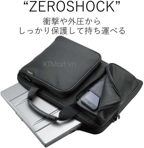 Túi đựng Laptop Elecom Zeroshock ZSB-BM006NBK Elecom