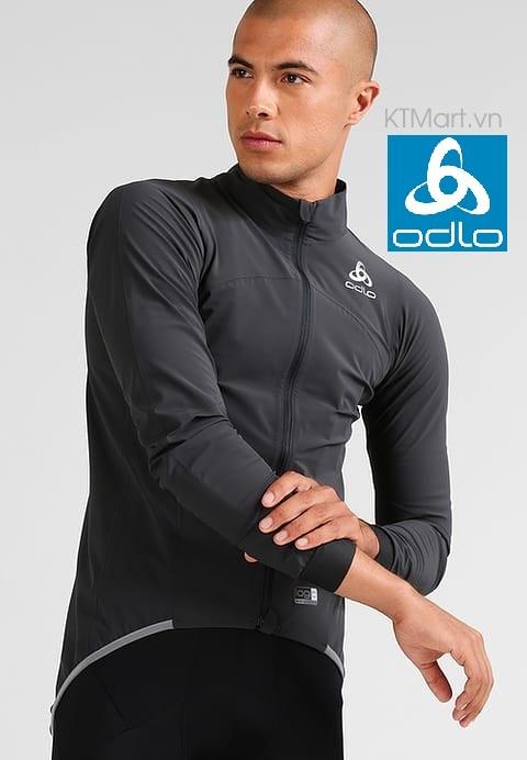 Áo đạp xe ODLO Men's Tyfoon Jacket 411382 Odlo size L