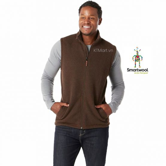 Smartwool Men's Hudson Trail Fleece Vest SW016214 Smartwool size S