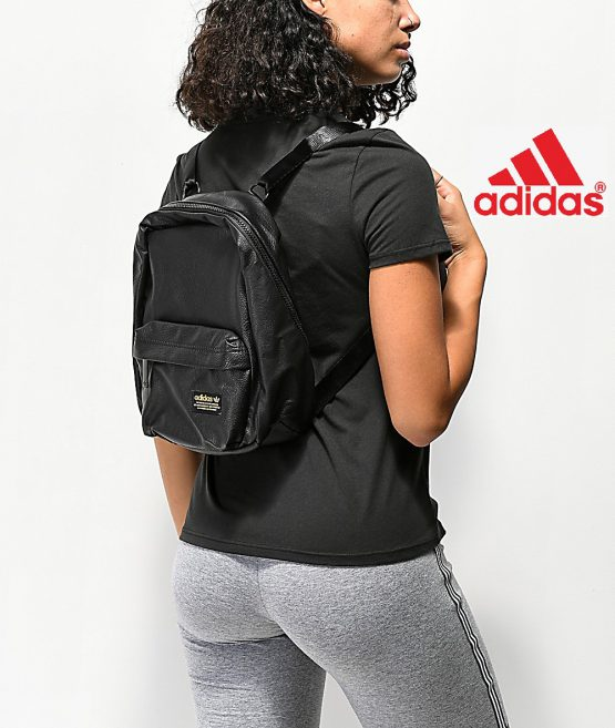 Balo Adidas National Compact Black Backpack Adidas