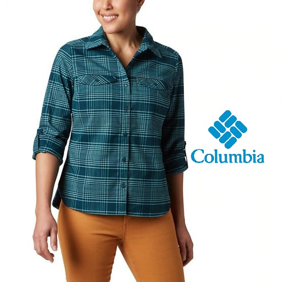 Áo sơ mi Columbia Women's Silver Ridge™ Long Sleeve Flannel Top 1740471 Columbia