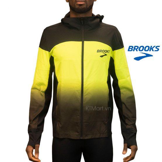 Áo gió chạy bộ Brooks Men's Elite Canopy Jacket 211143 Brooks size M