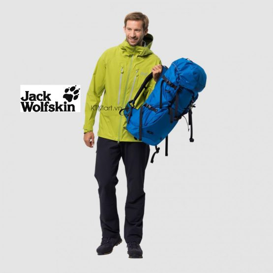 Jack Wolfskin Exolight Mountain Jacket Men Waterproof Jacket 1110402 Jack Wolfskin size L US