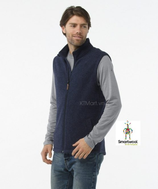 Smartwool Men's Hudson Trail Fleece Vest SW016214 Smartwool size M