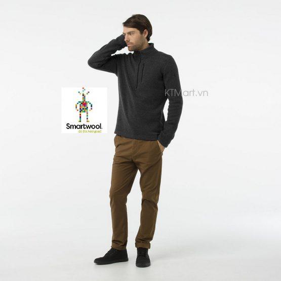 Smartwool Men's Hudson Trail Fleece Half Zip Sweater SW016216 Smartwool size S, M, L