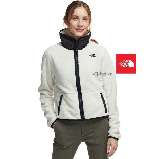 Áo khoác lông The North Face NF0A3XBH Dunraven Sherpa Crop Jacket Vintage White size M