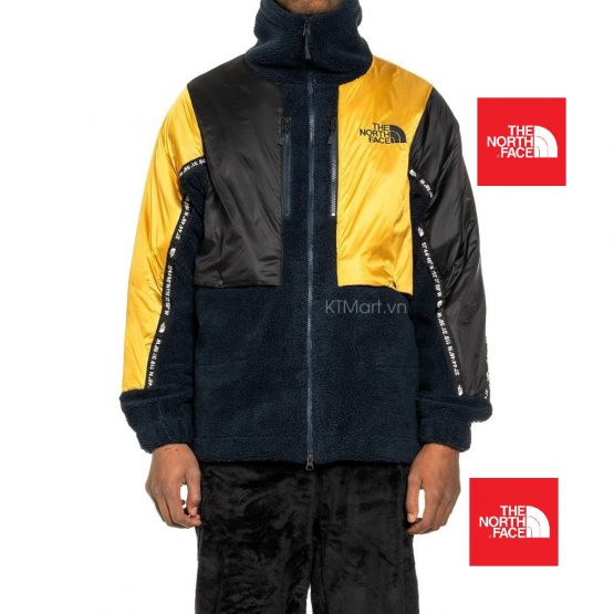 The North Face Kazuki Kuraishi High Neck Fleece Jacket Urban Navy NF0A46DG The North Face size S