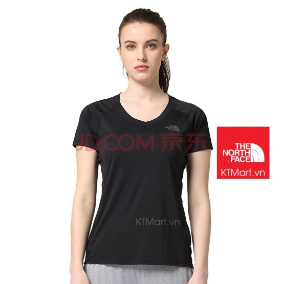 THE NORTH FACE TNF Ambition Running Gym T-Shirt Short Sleeve Tee Womens