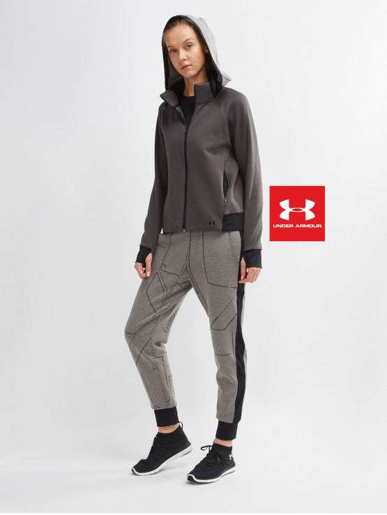 Bộ thể thao UNDER ARMOUR SPACER BURNOUT FULL ZIP 1316706 size S