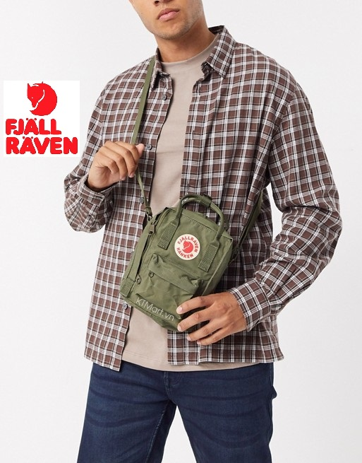 Fjällräven Kanken Sling Shoulder Bag Green 23797 Fjallraven
