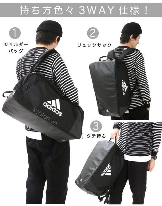 Adidas EPS 2.0 Duffle 35 Training Bags Running Black Backpack Bag Sacks DT3748 Adidas
