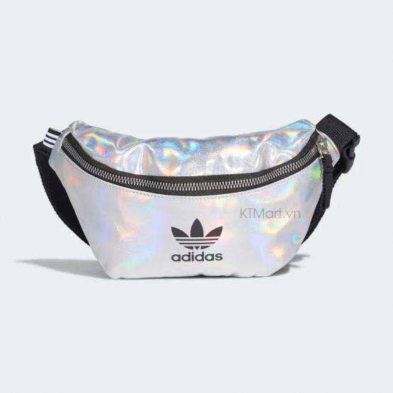Adidas Metallic Waist Bag Silver FL9632 Adidas
