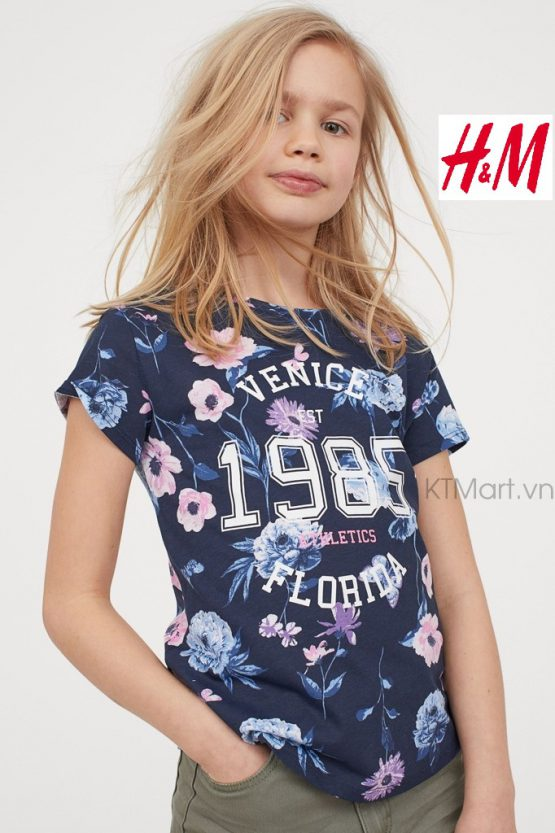 H&M Printed Jersey Top H&M size 10-12Y