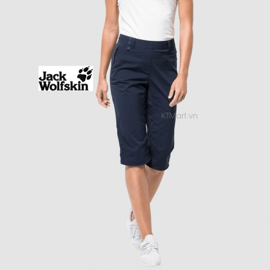 Quần Jack Wolfskin Activate Light 3/4 Pants Cropped Softshell 1503721 size 30
