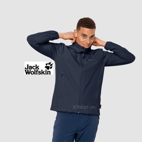 Áo khoác nhẹ Jack Wolfskin Crestview Softshell Jacket 1305471 size L