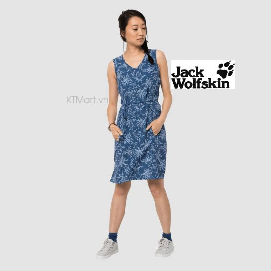 Jack Wolfskin Tioga Road Print Dress Ocean Wave 1506101 Jack Wolfskin
