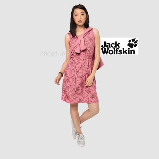 Jack Wolfskin Tioga Road Print Dress Rose Quartz 1506101 Jack Wolfskin