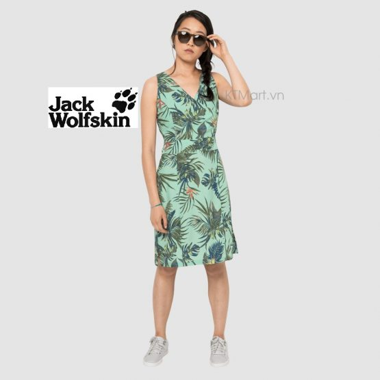 Jack Wolfskin Wahia Tropical Dress Light Jade 1503585 Jack Wolfskin size M