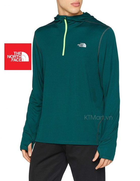 The North Face Men's Kilolite 1/4 Zip Hoodie 3F4Y The North Face size M