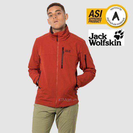 Jack Wolfskin EDWARD PEAK JKT M Windproof Softshell 1306521 Jack Wolfskin size M US