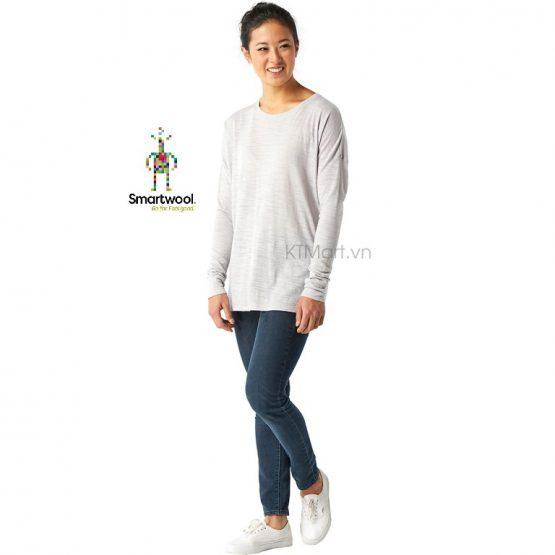 Smartwool Women's Everyday Exploration Slub Long Sleeve SW016148 Smartwool size S