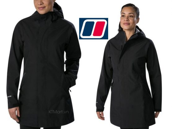 Berghaus Women's Limosa Long Waterproof Jacket 4A000806BP6 Berghaus size M US