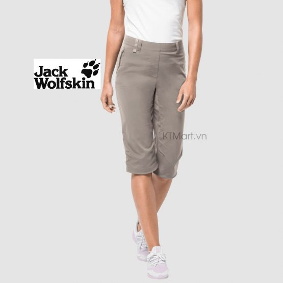Jack Wolfskin Activate Light 3/4 Pants Cropped Softshell 1503721 Jack Wolfskin size 28