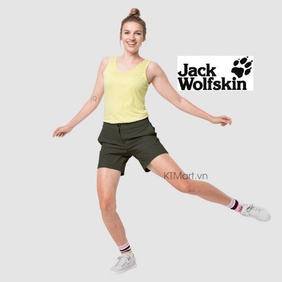 Jack Wolfskin JWP SHORTS W Softshell Short 1505981 Jack Wolfskin size M US