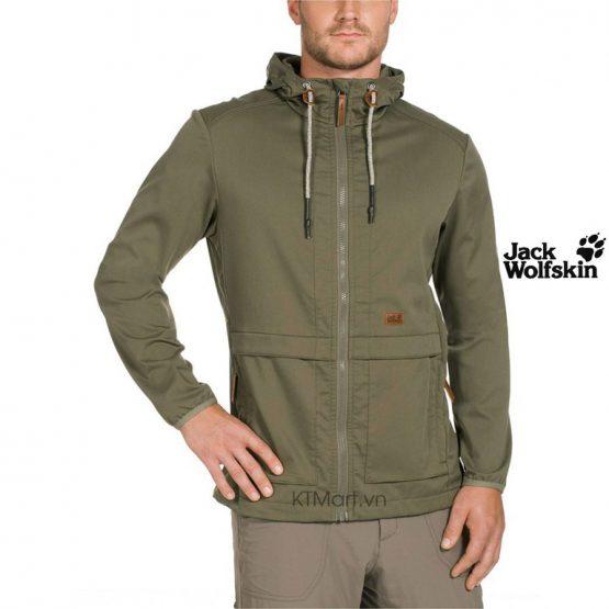 Áo khoác Jack Wolfskin Men's SoftShell Manitoba II Jacket 1303011 size M, L, XXL