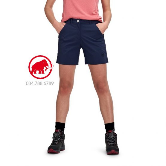 Mammut Hiking Women's Shorts Peacoat 1023-00130 Mammut size S