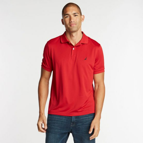 Nautica KR5308 CLASSIC FIT PERFORMANCE POLO size S