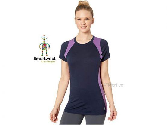 Áo lông cừu Smartwool Women's Merino 150 Baselayer Colorblock Short Sleeve SW000418 Smartwool size M