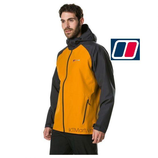 Berghaus Mens Paclite 2.0 Waterproof Jacket 422055 Berghaus size L US
