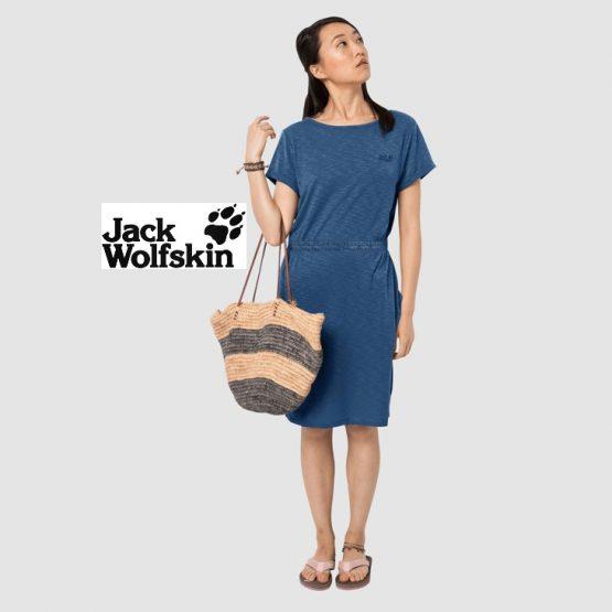 Jack Wolfskin 1505861 TRAVEL DRESS JERSEY DRESS WOMEN size S