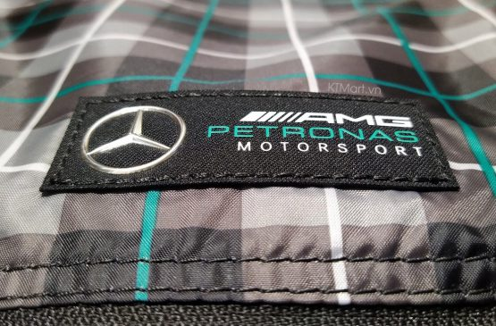 Mercedes AMG Petronas Check Pattern Pull Bag Puma