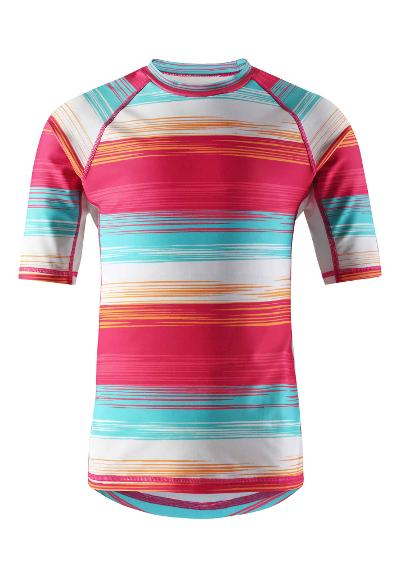 Bộ bơi chống nắng Reima 536374 Kids' short-sleeved swim top Ionian size 104, 134cm