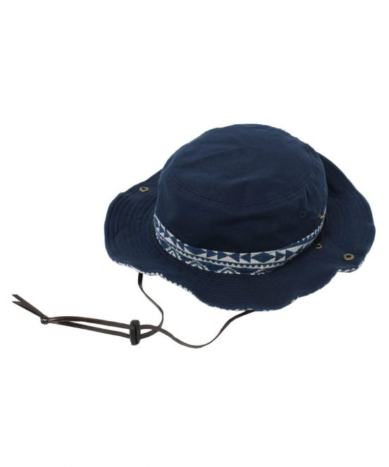 Mũ rộng vành VISION PEAKS Hat Twill Chimayo Pattern Adventure VP171201I01 NVY [ODCL]