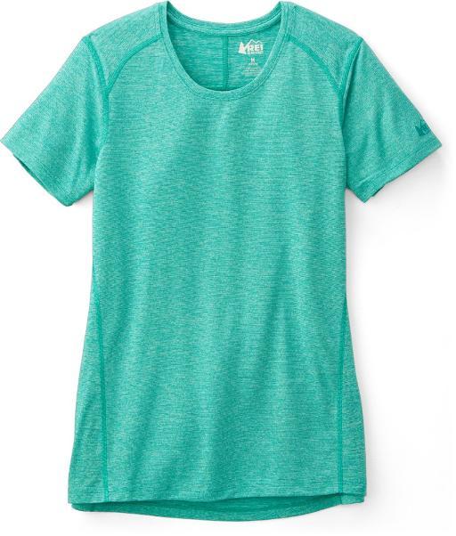 Áo tập thể thao REI Co-op 127324 Balance Crewneck Stripe T-Shirt – Women's size M