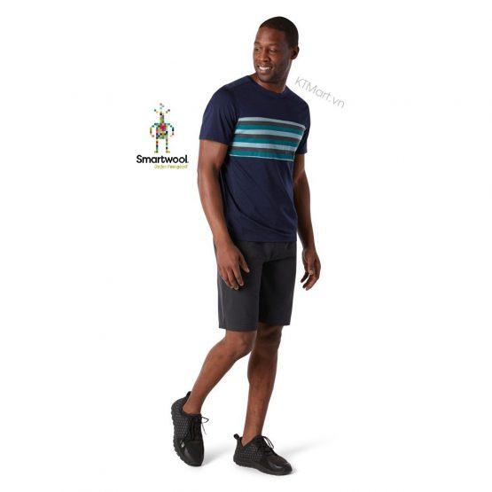 Smartwool Men's Merino 150 Colorblock Short Sleeve SW016413 Smartwool size M