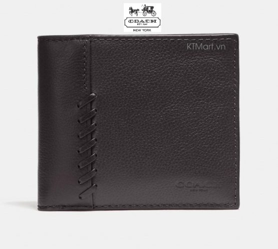 Coach Men's 3 In 1 Wallet With Baseball Stitch F21371 Coach