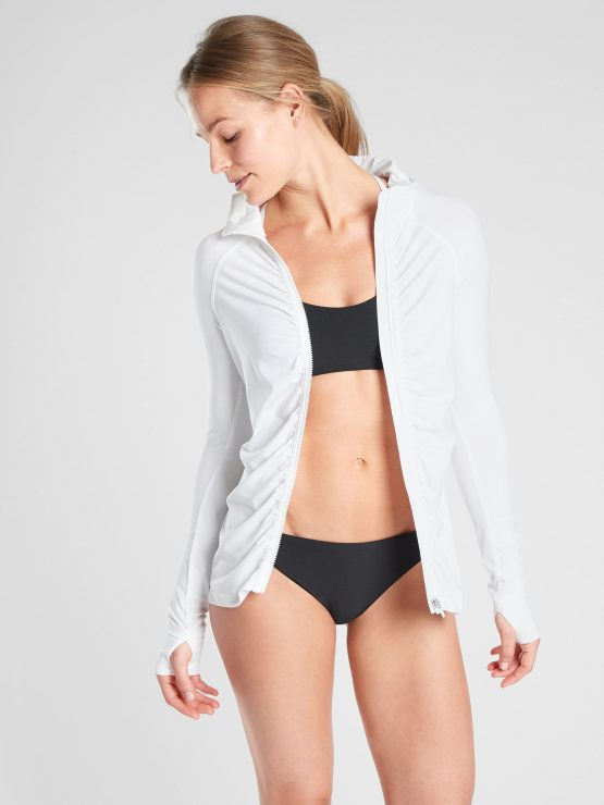 Áo khoác thể thao chống nắng Athleta 405562 Pacifica Crosscurrent UPF Jacket size S