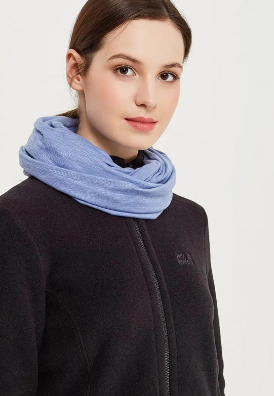 Khăn JACK WOLFSKIN 1905771 TRAVEL LOOP SCARF DUSK BLUE