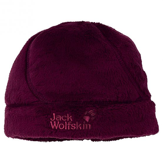 Jack Wolfskin -1901881- Teenager's Hat GIRLS SOFT ASYLUM CAP – Dark berry